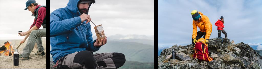 Abenteuer vor der Haustür: Camping, Lagerfeuer, sportliche Aktivitäten wie Wandern oder Radfahren. Mikroabenteuer.