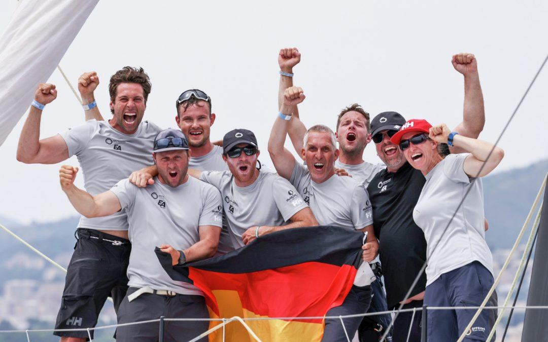 Team Germany gewinnt die erste Auflage des THE OCEAN RACE EUROPE 2021
